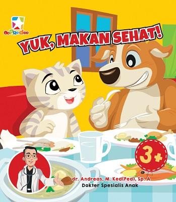 Opredo Board Book Kata Dokter: Yuk, Makan Sehat!