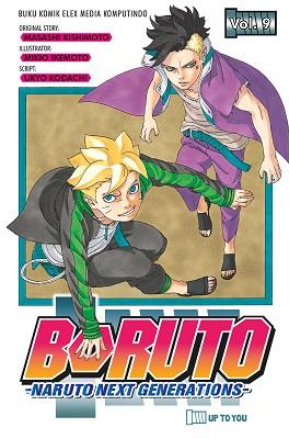 Boruto - Naruto Next Generation Vol. 9 Masashi Kishimoto