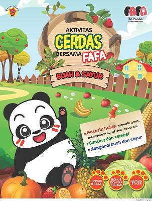 Aktivitas Cerdas Bersama Fafa Buah dan Sayur Helena Irma/Kanimals