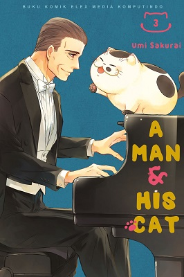A Man & His Cat 03 Umi Sakurai