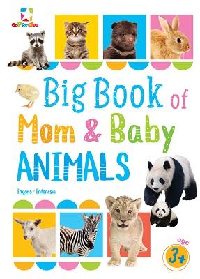 Opredo Big Book of Mom and Baby Animals Tim Oopredoo