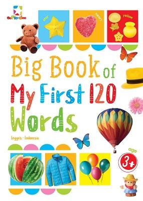 Opredo Big Book of My First 120 Words Tim Oopredoo