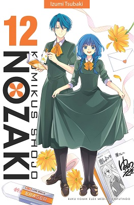 Komikus Shojo Nozaki 12 Izumi Tsubaki