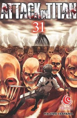 LC: Attack on Titan 31 Hajime Isayama