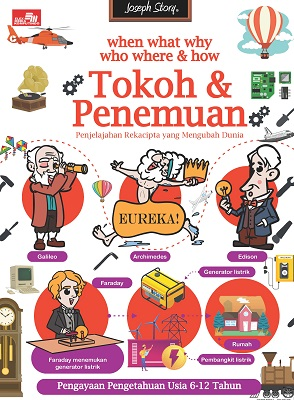 When, What, Where, Why, Who, and How Tokoh Penemuan