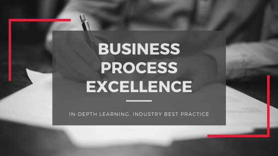 Business Process Excellence In-Depth Learning, Industry Best Practice