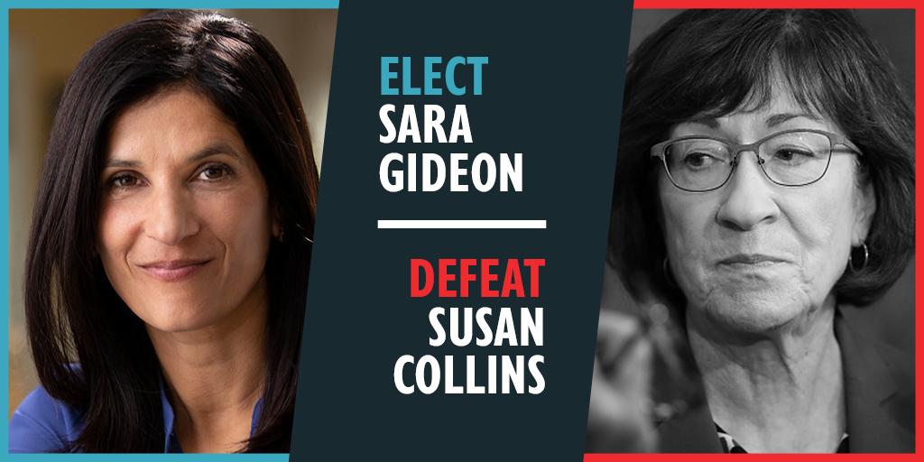 Contribute to Sara Gideon for U.S. Senate, Maine   EMILY's List
