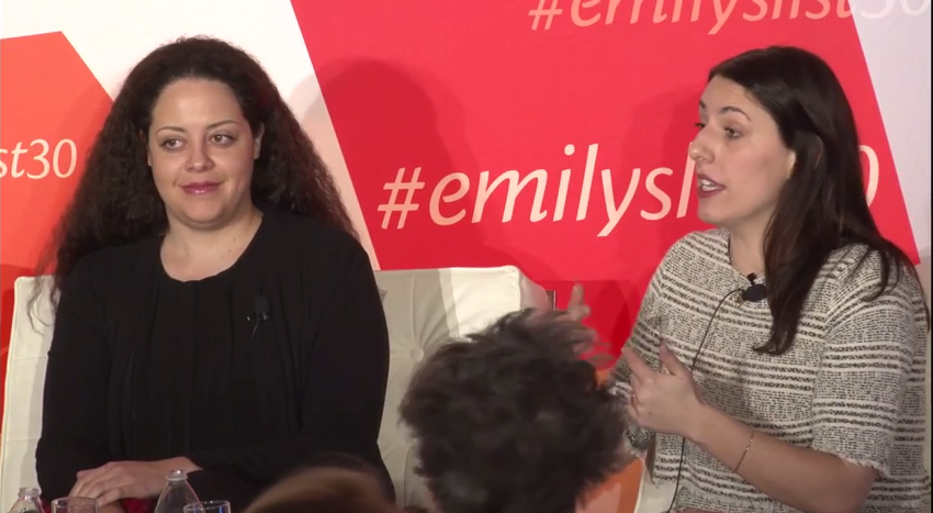 Panel on Feminism: Movement and the Media at EMILY's List 30th Anniversary
