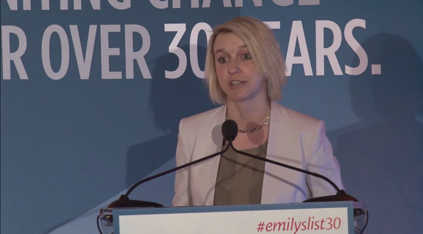 Jess McIntosh Speaks at EMILY's List 30th Anniversary