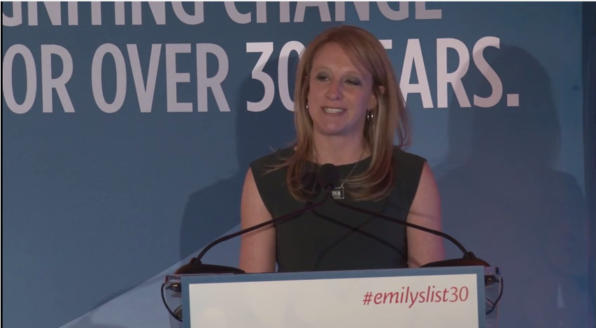 Lucinda Guinn Speaks at EMILY's List 30th Anniversary