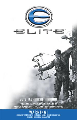 Elite Archery - Technical Manual 2009