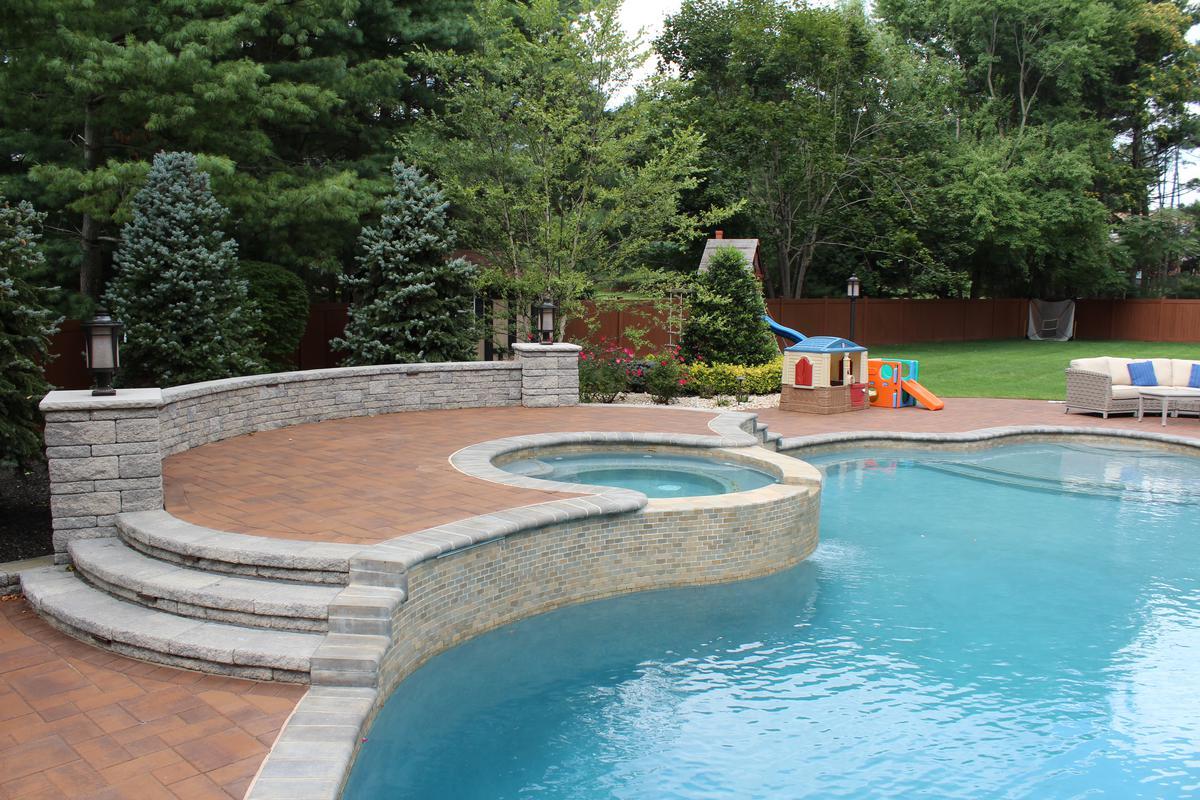 What Is A Gunite Pool Elite Landscapes