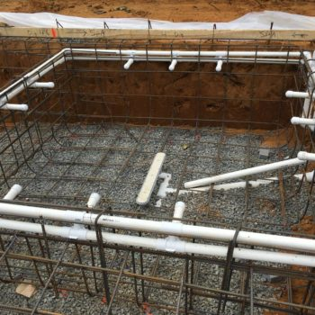 Step 5 - Gunite pool construction