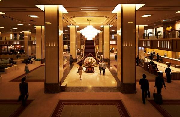 Japan Hotel Lobby