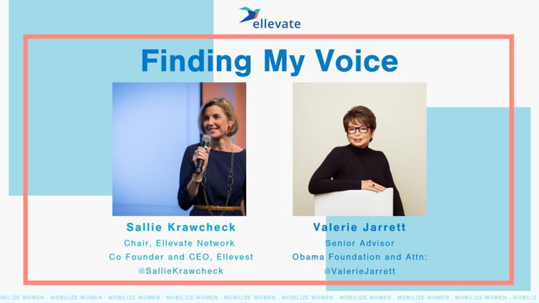 Finding My Voice, with Valerie Jarrett