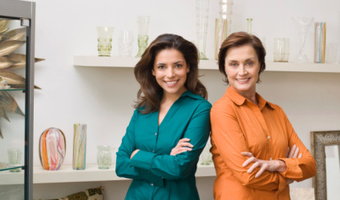 Two women back to back thinkstockphotos