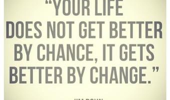 Change your life stock