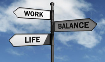 Work life balance directions thinkstock