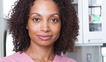 Woman physician