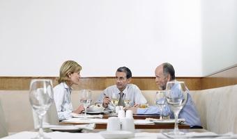 Bigstock businesspeople in restaurant 7310019