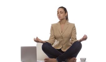 Mindfulness lady