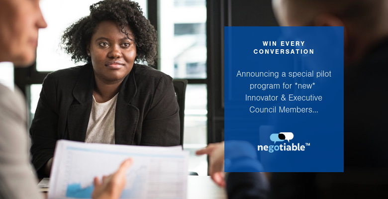 Join Our New Training Program: Learn How to Get a Win by Negotiating -- No Matter What Conversation You're In