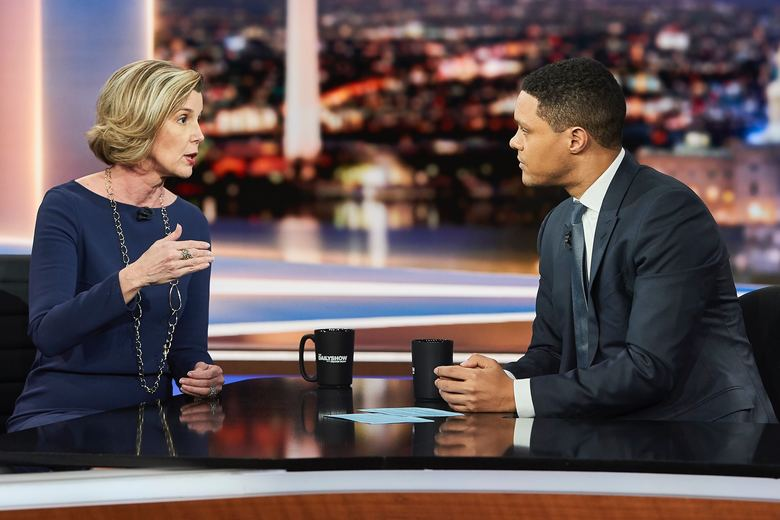 An Interview with Sallie Krawcheck and Trevor Noah on The Daily Show