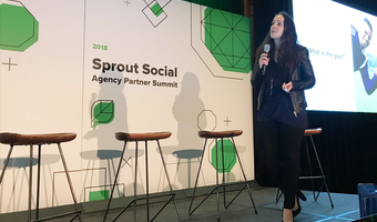 Sprout summit on stage