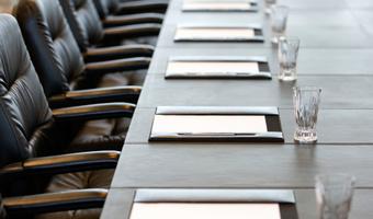 Board meeting table thinkstockphoto