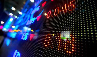 Stocks board lights