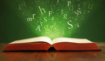 Open book with words thinkstockphoto