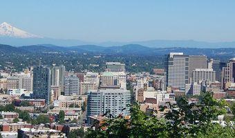Portland and mt hood