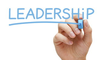 Leadership written out stock