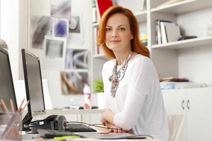 Modern businesswoman thinkstock