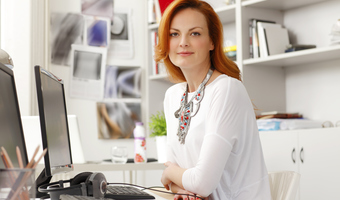 Modern businesswoman thinkstock