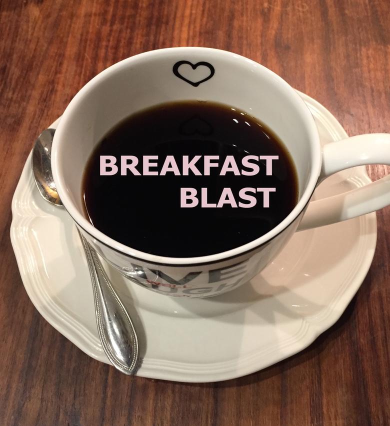 Breakfast blast bbb