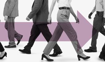 Thumb business women female walk gender men forward equality