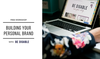 Personal brand workshop fb cover