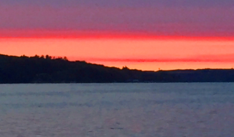 Michigan lake for enneagrram photo