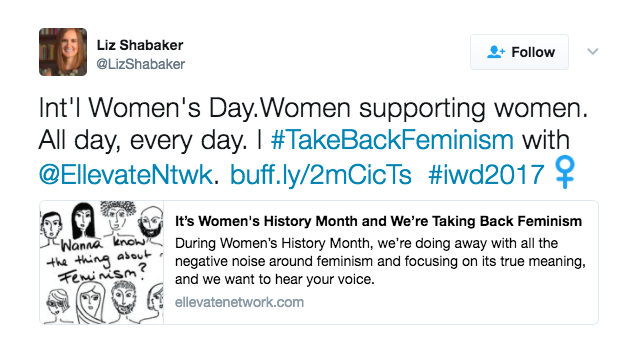 This Month We Took Back Feminism - And Here's What We