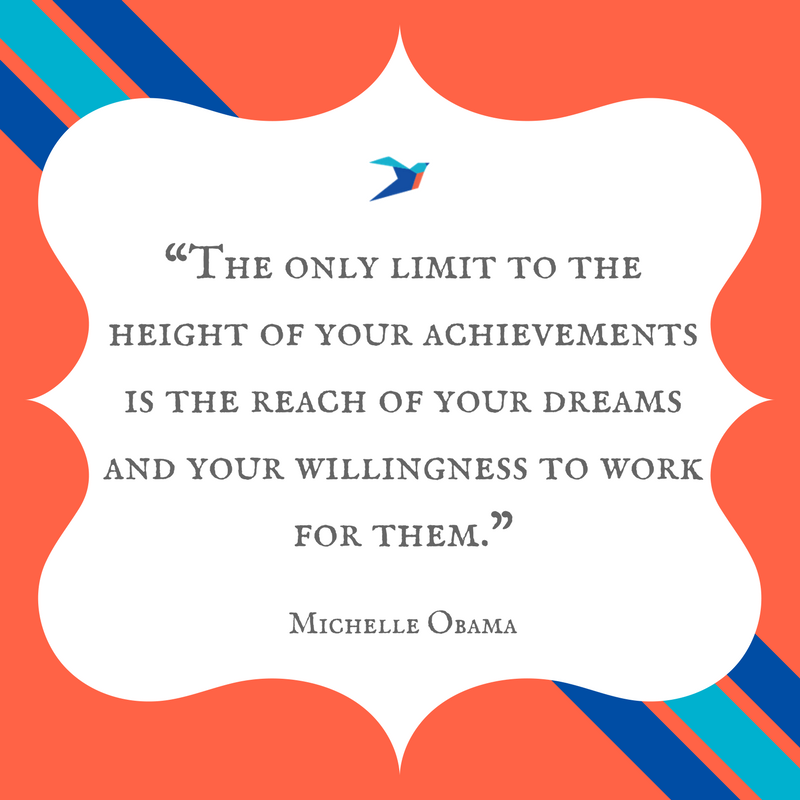 quotes about reaching your goals ellevate