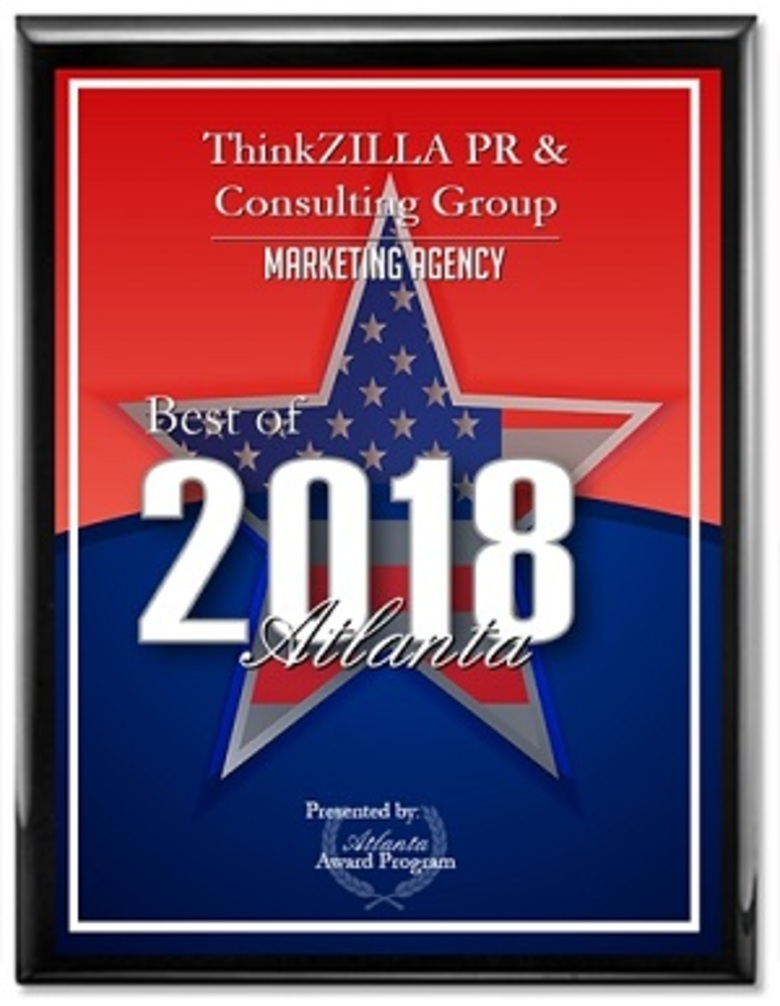 ThinkZILLA PR & Consulting Group Honored for top Marketing Agency in Atlanta