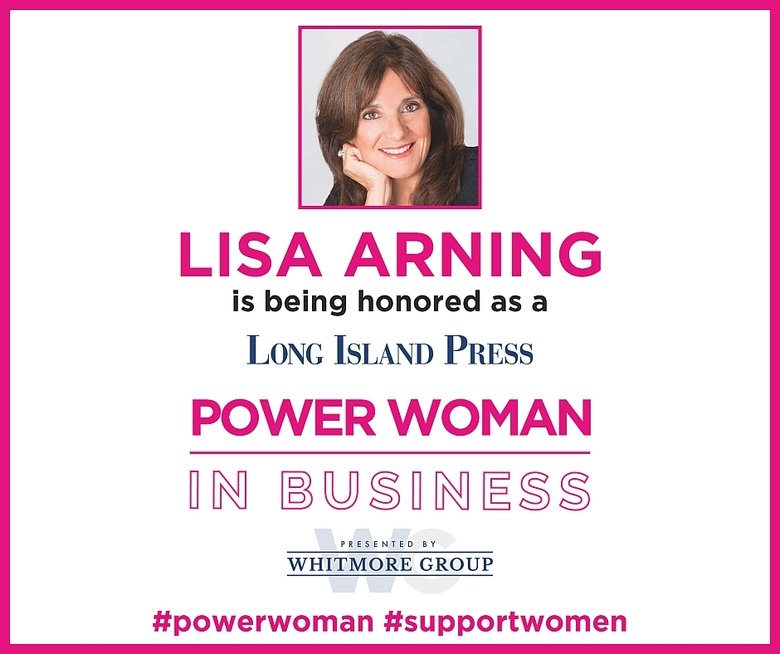 "Lisa Arning Receives ""Power Women In Business Award"""