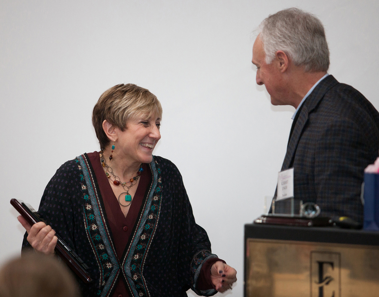 Rhonda Wernick Receives The Ninth Annual Jack Barth Memorial Award of Excellence