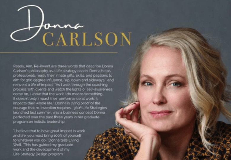 Donna Carlson Recognized as One of Colorado Living Well's Women Who Inspire