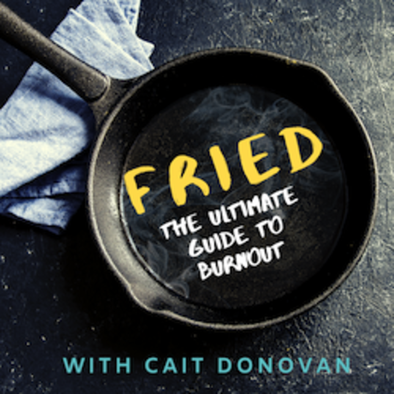 Caitlin Donovan Starts Own Podcast, Fried: the Ultimate Guide to Burnout