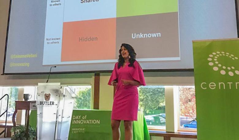 Saleema Vellani Gives Keynote Address at Centric Day of Innovation
