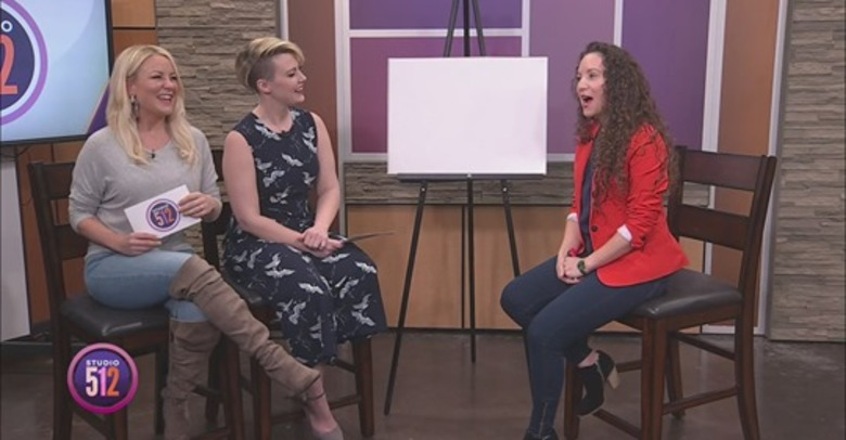 Sierra Bailey Featured on the Live TV Show Studio512