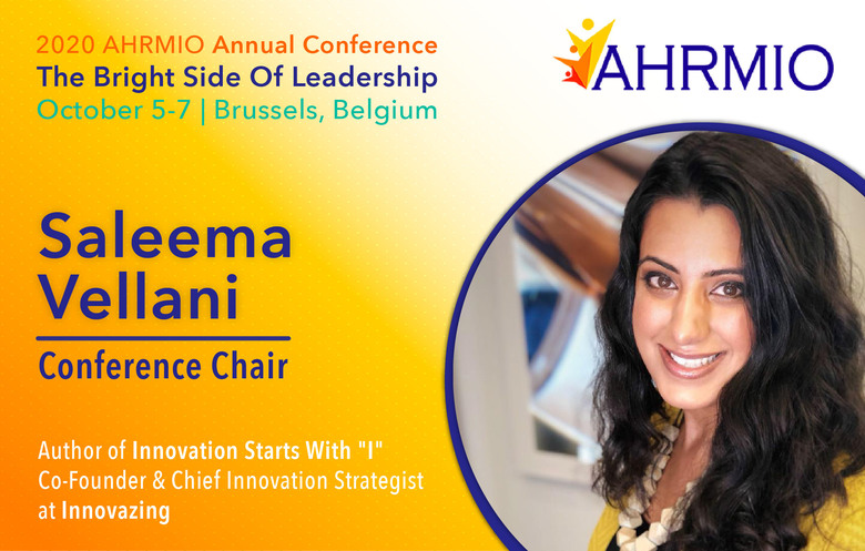 Saleema Vellani Appointed as Conference Chair for AHRMIO Annual Conference in Brussels, Belgium