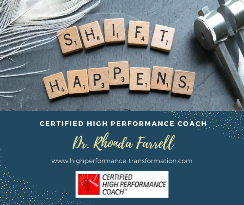 Dr. Rhonda Farrell Achieves her High Performance Coaching Certification